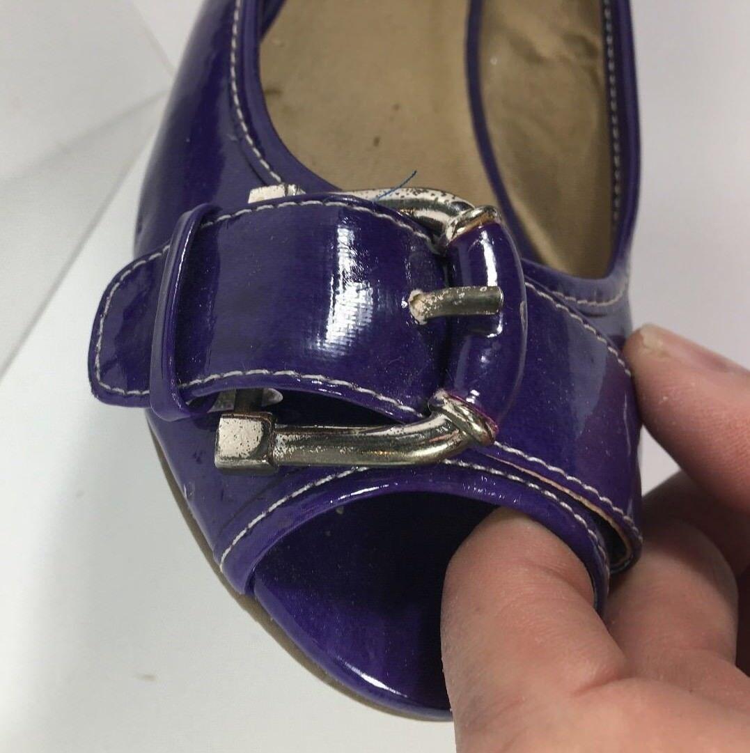 talons plats 6 avec violet en brevets ceinture taille 6 plats m a4dc87