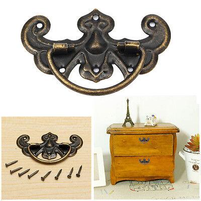 Vintage Zinc Alloy Kitchen Cabinet Closet Cupboard Drawer Door Handle Pull Knobs