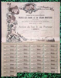 Dept-73-amp-Lyon-Superbe-Action-sur-le-Thermalisme-et-les-Eaux-Minerales-1894