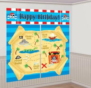PIRATES-TREASURE-MAP-SCENE-SETTER-PARTY-WALL-DECORATION-POSTER-PIRATE-BIRTHDAY