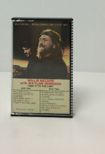 Vintage-1983-Willie-Nelson-w-Waylon-Jennings-Country-Music-Cassette-Tape