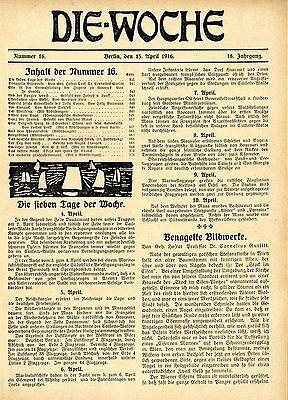kriegs-wahrzeichen aufsatz Von Prof.cornelius Gurlitt 1916 Products Are Sold Without Limitations Ingenious Benagelte Bildwerke