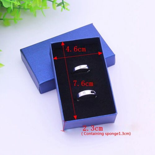 24x Colorful Linen Paper Box Velvet Jewelry Case Ring Container Gifts Box