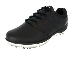 Details about Skechers Men's Extra Wide Fit Go Golf Pro V.4 Leather Golf Shoes 54535EWWBKW