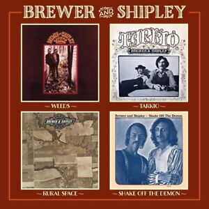 BREWER-amp-SHIPLEY-KARMA-collection-2-CD-NEUF