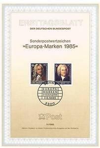 BRD-1985-Bach-und-Haendel-Ersttagsblatt-der-Europamarken-Nummer-1248-1249