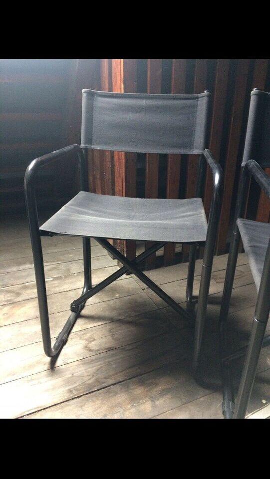 Klapstole stålrørsstole retro bauhaus stil