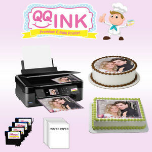 Edible-Printer-with-Wafer-Edible-Sheets-amp-Edible-Ink-Cartridges-Edible-Printer