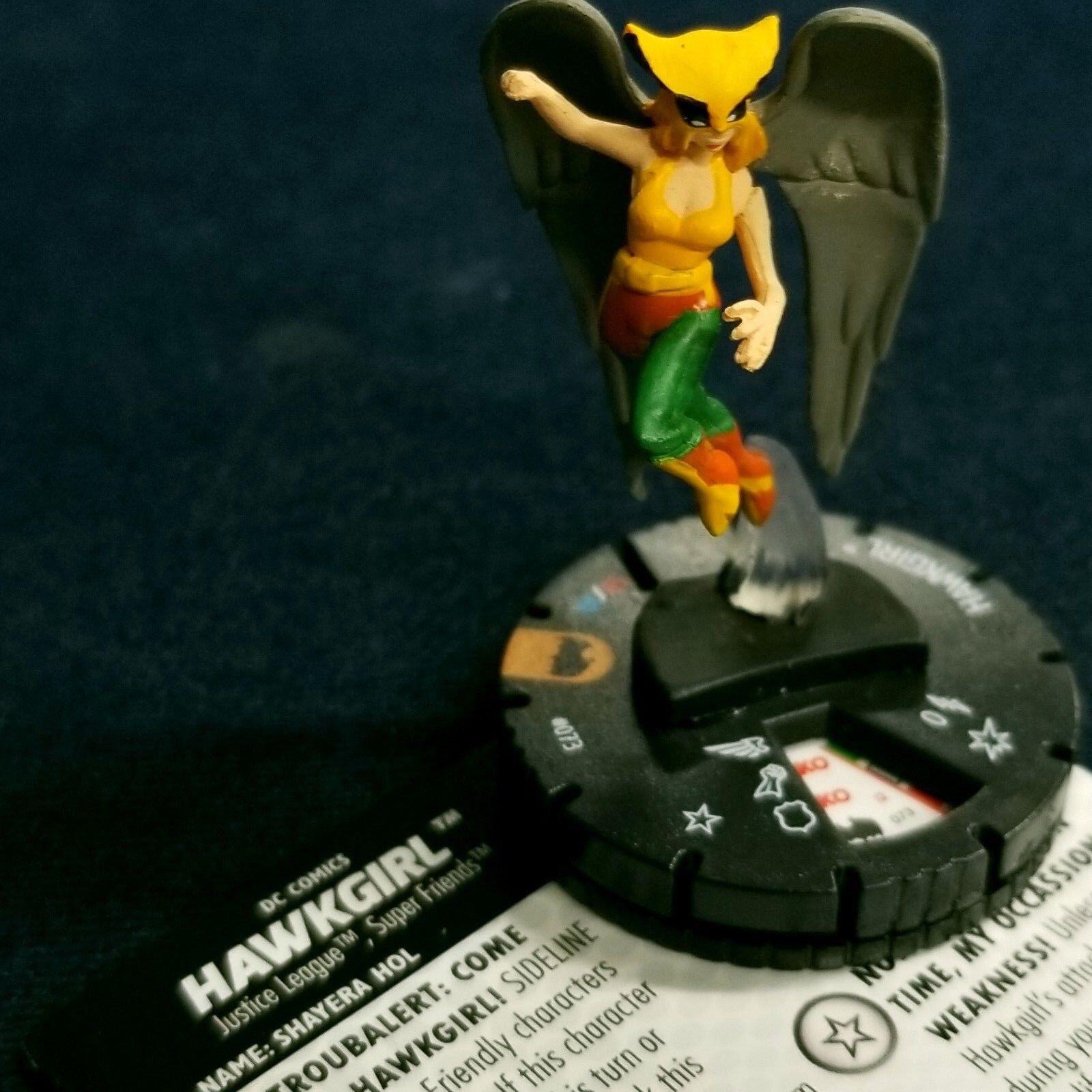 HAWKGIRL - 073 - CHASE Batman Animated Heroclix