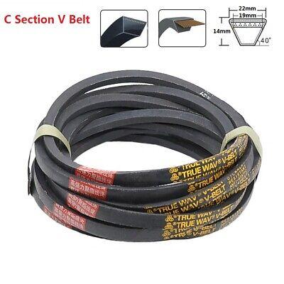 C Section V Belt Sizes C1400-C7900 Rubber Traction Drive V Belt 22mm x 14mm