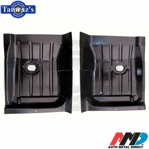 68-74 X-Body Floor Pan REAR Half Section Patch PAIR AMD