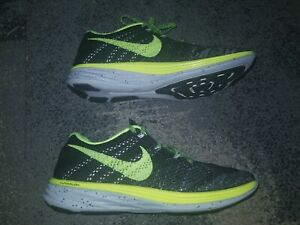 competitive price 8d56b d53ae Image is loading EUC-RARE-Nike-Flyknit-Lunar-3-ID-718675-