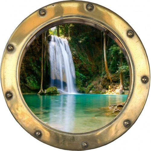 Sticker hublot Chute d/'eau H317