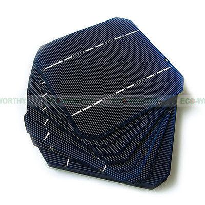 5x5 125x125 High Power Monocrystalline Solar Cells Mono Cell for DIY Solar Panel