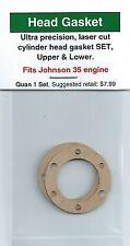 Johnson 35 Cylinder Head Gasket 2 Pc SET, 1 Upper & 1 Lower - NIP