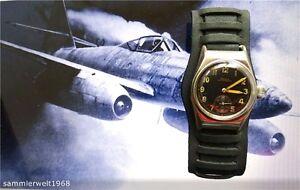Doxa 2.wk Military Reichsluftwaffe Dienstuhr Piloten Flieger Armbanduhr Um 1935 Exzellente QualitäT