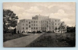 Auriesville-NY-EARLY-VIEW-OF-JESUIT-TERTIANSHIP-RETREAT-POSTCARD-E7