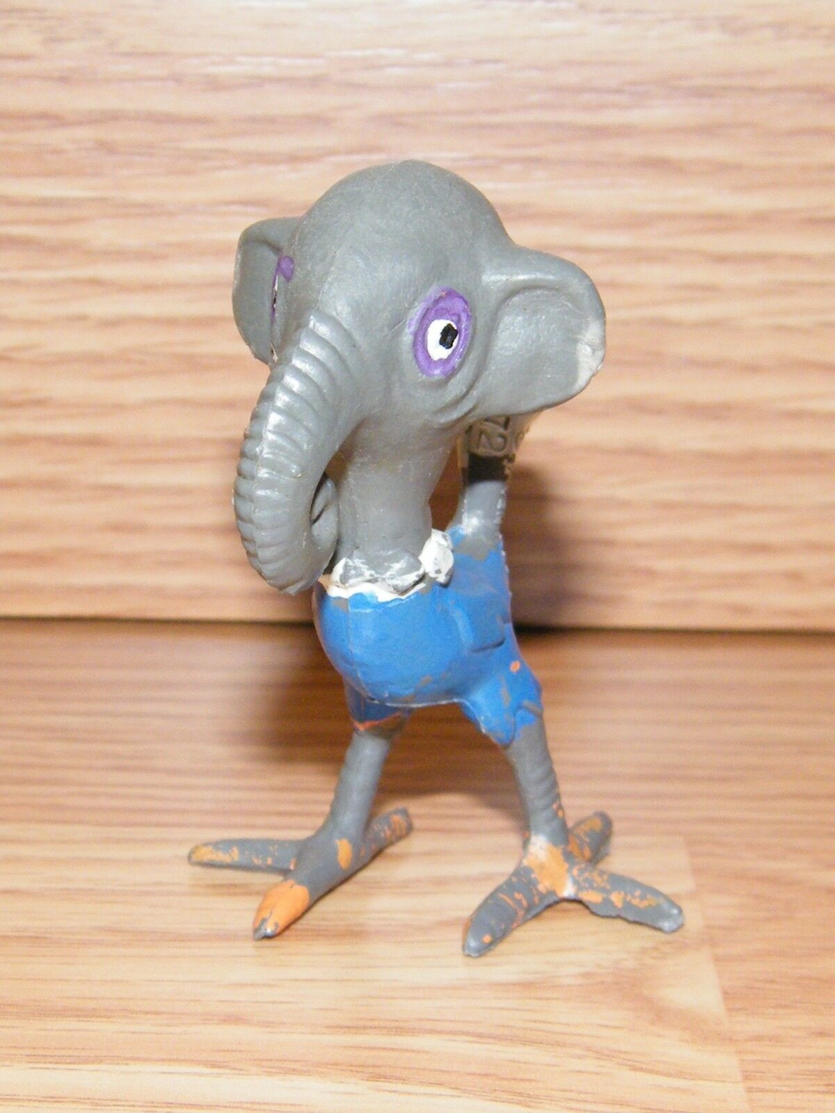 1972 Stevens Mfg Co. Mixed Up Zoo Tiere   Ostriphant Figur nur B
