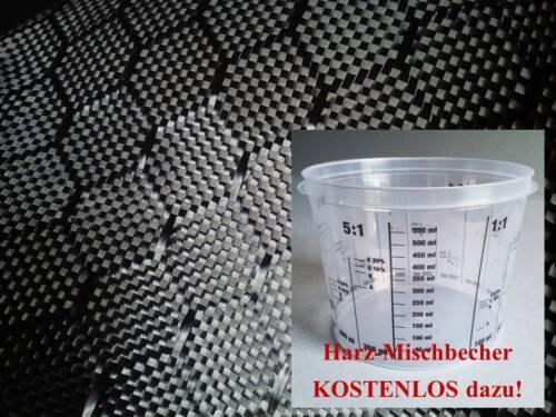 Designgewebe Hexagon Z-HGS-250 WELTNEUHEIT: Carbongewebe Honeycomb 250g//m²