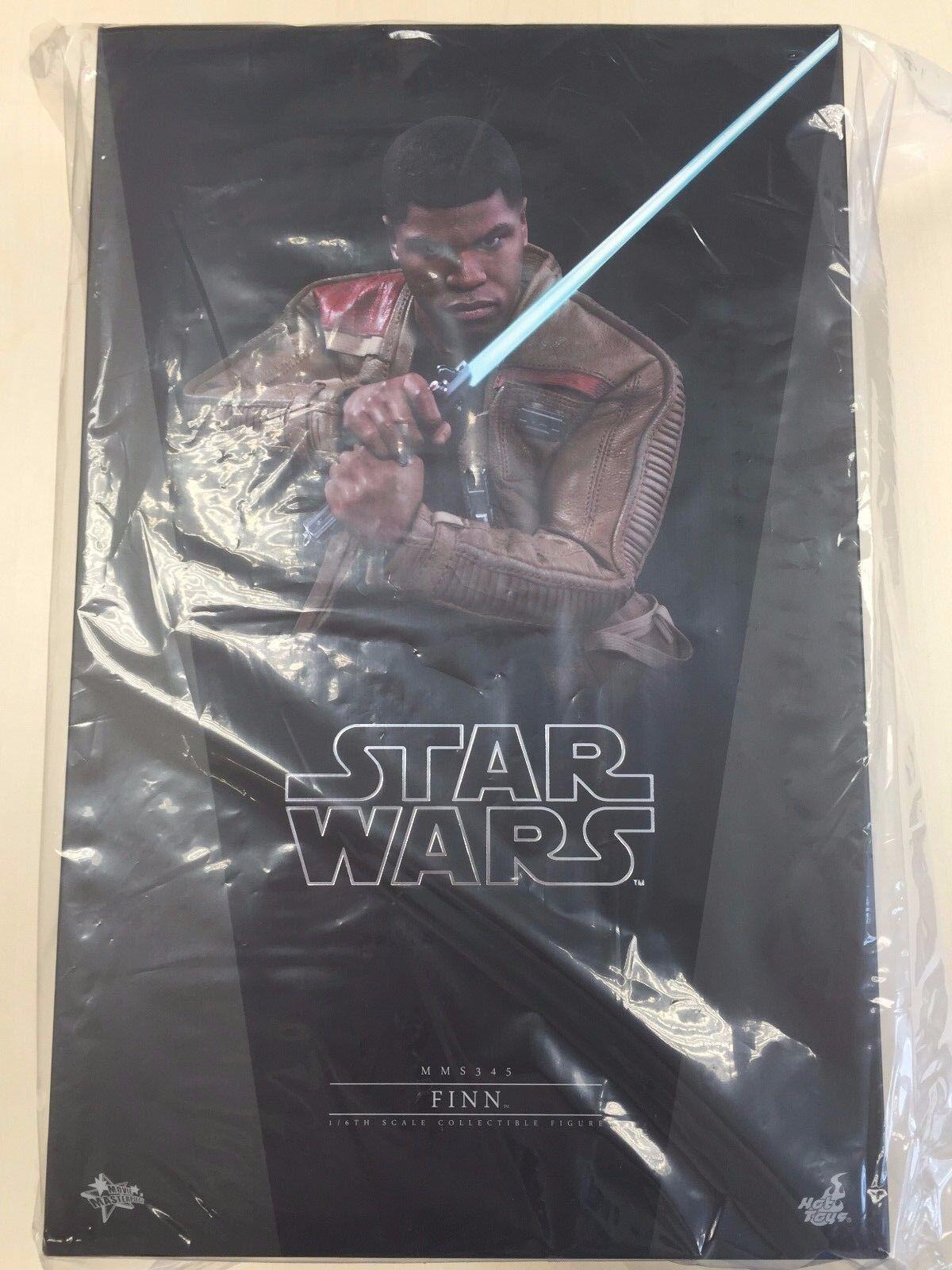 Hot Toys MMS 345 Star Wars Force despierta primera orden Finn John Boyega Nuevo