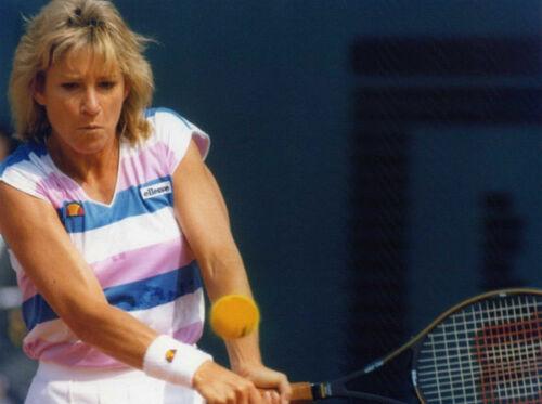 "Chris Evert UNSIGNED 8/"" x 6/"" photograph American tennis player N298"