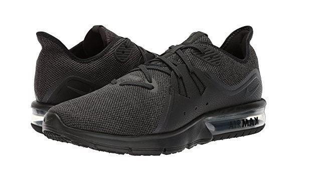 Nike air max successivi 3 scarpa da corsa, nero / antracite 921694 010