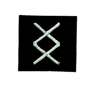 Patch patches  backpack odin viking witchcraft runes alphabet letter horse
