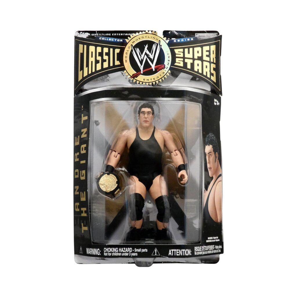 WWE CLASSIC ANDRE THE GIANT SERIES 1 JAKKS WRESTLING FIGURE BOXED MOC