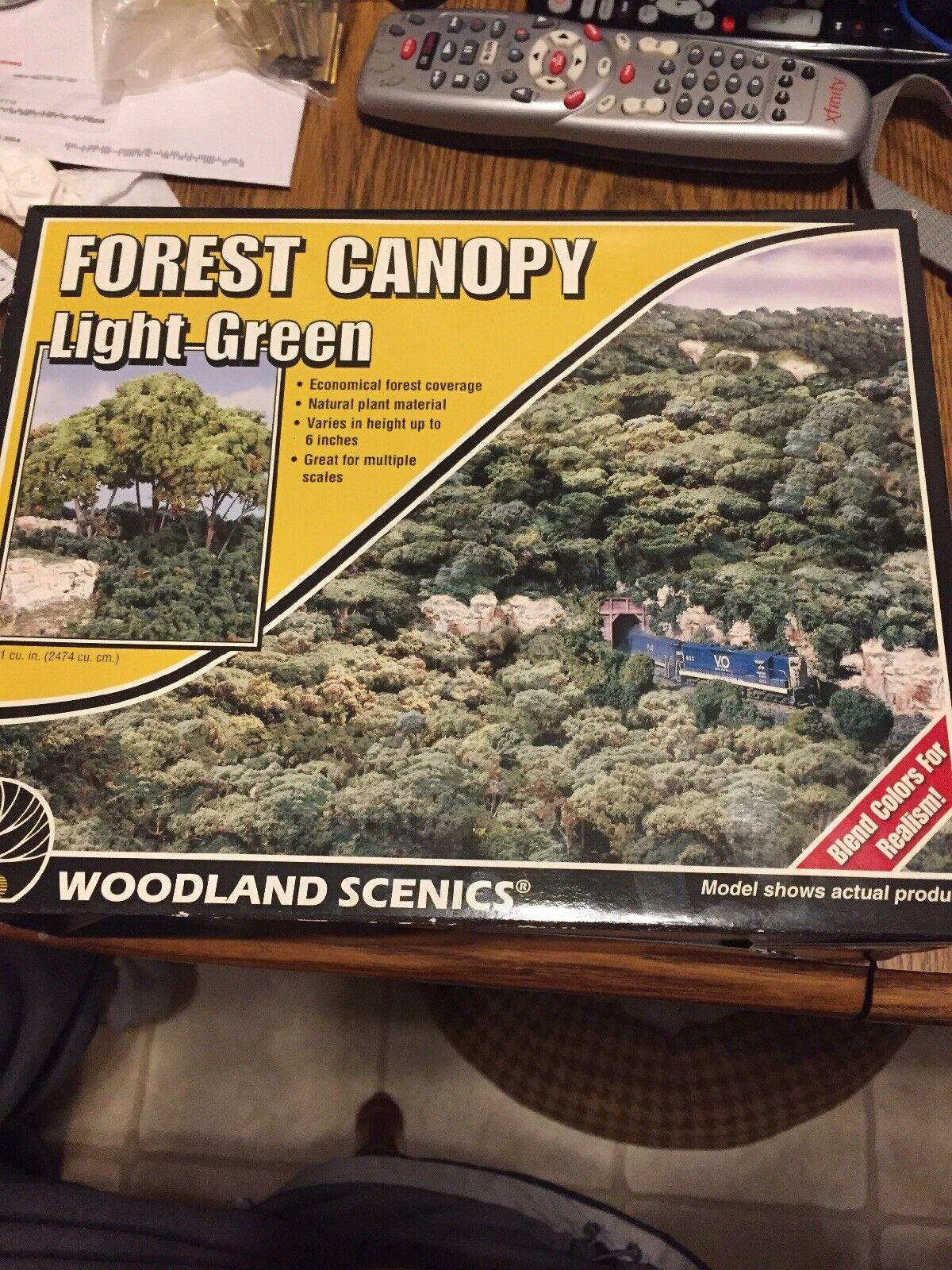 Forest Canopy Medium Green F1661 WOOF1661 WOO Woodland Scenics