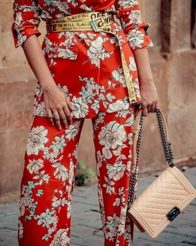 Leg Printed Zara Size Red Pants Wide Trousers Xs Beautiful Palazzo jSR4Lq35Ac