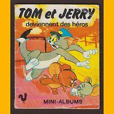 Télé-Librairie deux coqs d'or TOM ET JERRY DEVIENNENT DES HÉROS Mini livre 1979