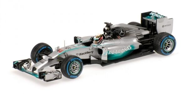 Mercedes Amg W05 Lewis Hamilton Winner Japanese Gp With Rain Tyres 2014 1:43