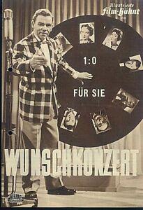 """IFB Illustrierte Film Bühne Nr. 2930 """" Wunschkonzert 1:0 für Sie """""""