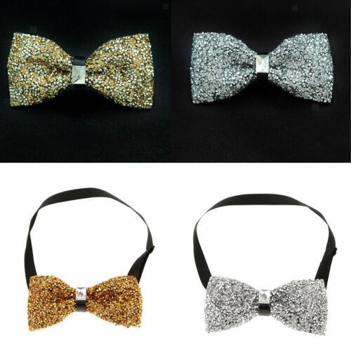 2x Kristall Diamante Smoking Fliege Bräutigam Hochzeitsanzug Formelle