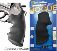 Taurus 431 441 607 608 Medium Frame Revolver Overmolded Grip By Hogue T66-000