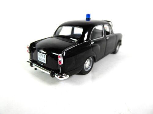 Hindustan Ambassador Indian police 1:43 Ist Diecast Model Car PM11