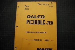 komatsu pc300 7eo manuals