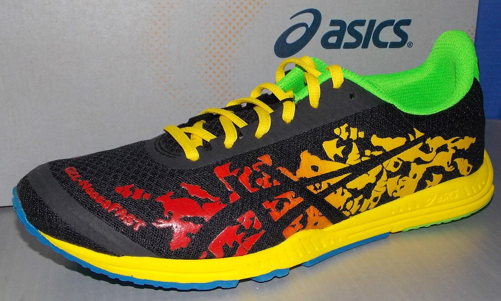 Mens Asics Gel-noosafast en Colors llama Negro amarillo Tamaño 8.5