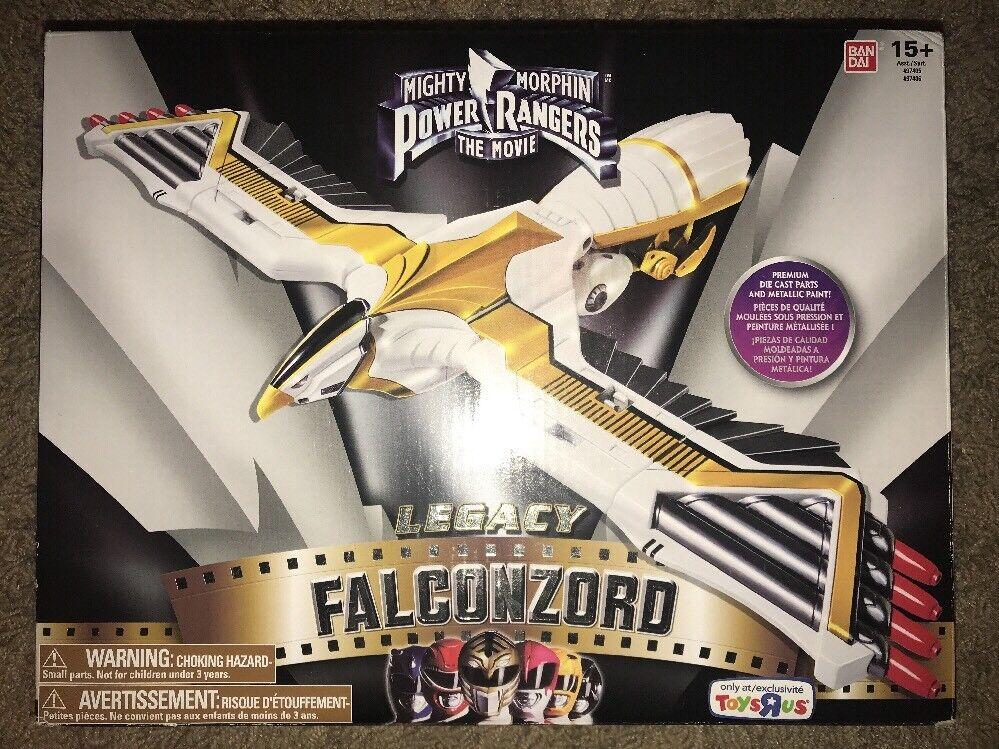 Power Rangers Mighty Morphin Legacy Series Falconzord Figura De Acción Nueva Sin Abrir