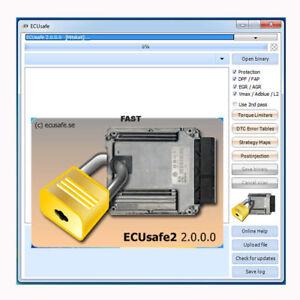 Details about ECUSAFE V2 0 0 Deactivate FAP EGR ADBLUE DPF OFF EGR OFF  SPEED LIMITER