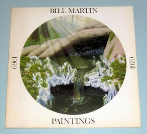 BILL MARTIN NEW AGE VISIONARY SURREALISM PSYCHEDELIC ART 1969 – 1979 LSD HIPPIES