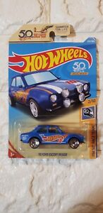 HOT-WHEELS-HW-50-RACE-TEAM-1970-FORD-ESCORT-RS1600-rare-collectible