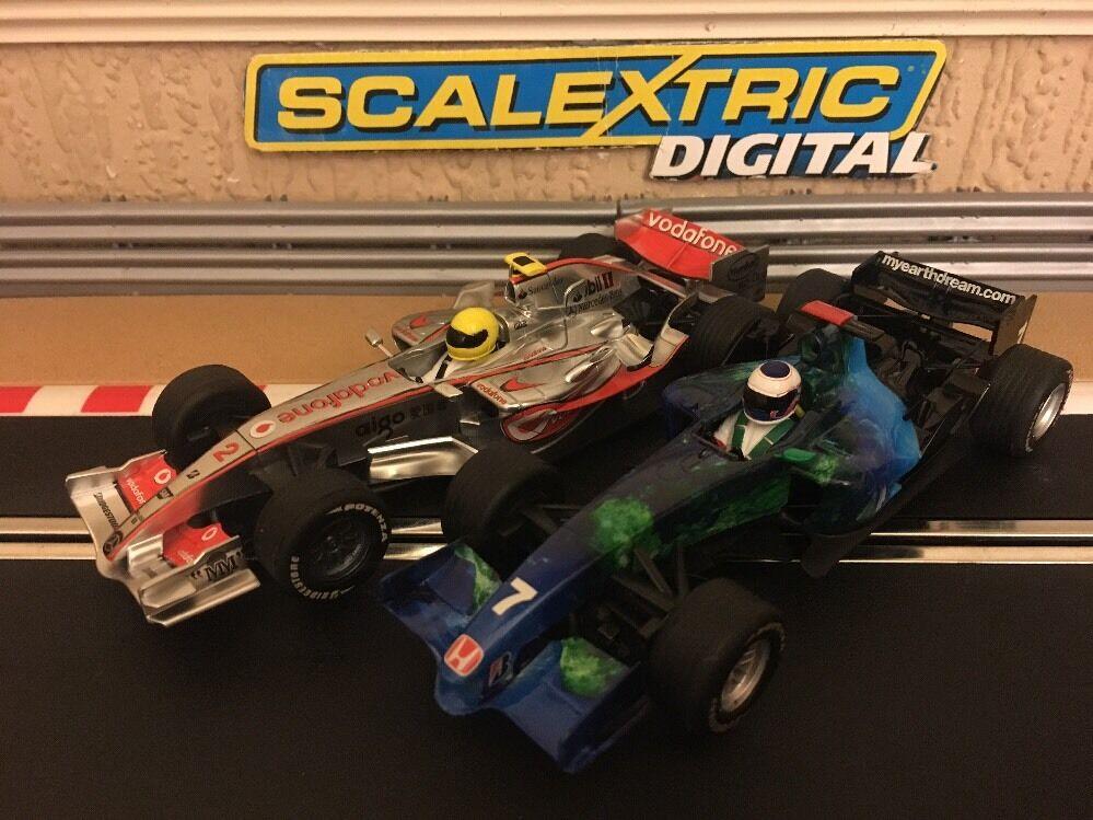 Scalextric Digital F1 McLaren MP4-21 & Honda Racing Mint Condition
