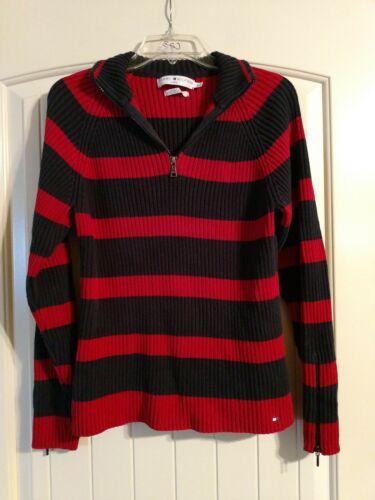 Vintage Tommy Hilfiger Ladies Wide Striped Sweater