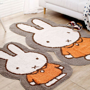 45x28 65x40 Miffy Body Mat Girls Rugs Boys Rugs Girl Room Rugs