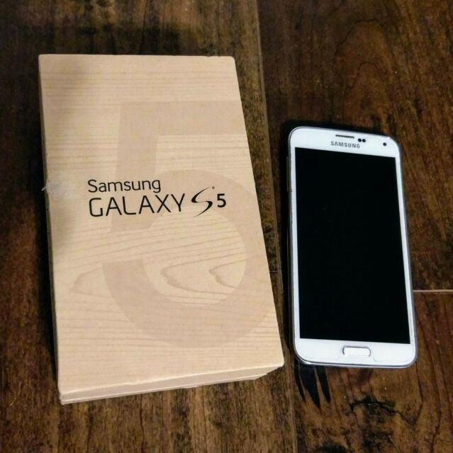 Samsung Galaxy S5 SM-G900P - 16GB - White (Sprint) Smartphone
