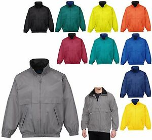 MEN'S UNLINED, WATER RESISTANT, ZIP UP, WINDBREAKER, WIND JACKET, POCKETS, S-4XL