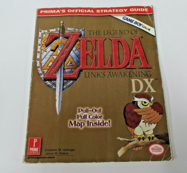 Prima S Official Strategy Guide The Legend Of Zelda Link S Awakening Dx No Map