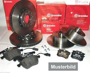 brembo bremsen satz komplett vorderachse hinterachse f r. Black Bedroom Furniture Sets. Home Design Ideas