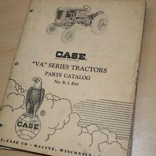 Case Model Va Series Tractor Parts Manual Book Spare List Catalog Farm Factory